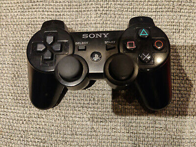 Sony PS3 Playstation 3 Controller Sixaxis Wireless Genuine Authentic • 10.50£
