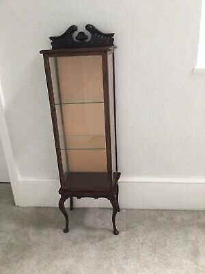 Victorian Mahogany Small Display Cabinet • 30£
