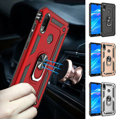 AU14.99 • Buy For Huawei Y5 Y6 Y7 Pro Y9 Yrime 2019 Rugged Magnet Ring Case Shockproof Cover
