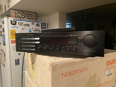 $150 • Buy Vintage Nakamichi RE-1 AM/FM Stereo Receiver With Remote  For Repair Exc. Con.