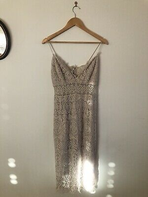 AU15 • Buy Asos Tall Lace Dress Size 12