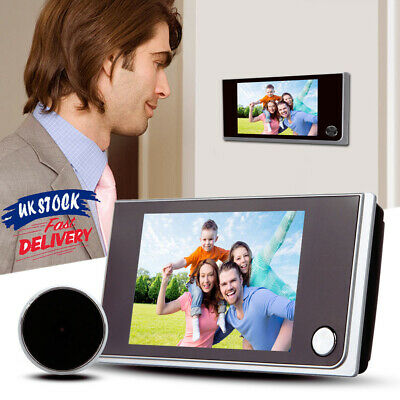 3.5  LCD 120° Peephole Viewer Door Eye Home Security Doorbell IR Camera Viewer • 26.89£