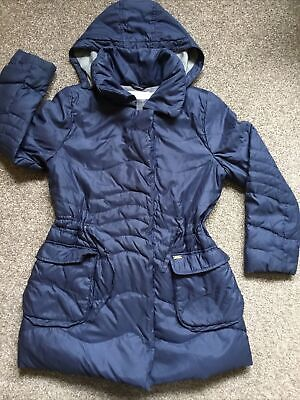 GEOX Girls Navy Down Jacket Coat Age 8 Years • 1.90£