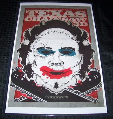 AU6.54 • Buy The Texas Chainsaw Massacre 3D 11X17 Movie Poster Leatherface Pretty Woman
