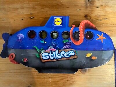 Lidl Stikeez Stickeez Under The Sea Missing 7 Of 24 + Submarine Storage Case • 2£