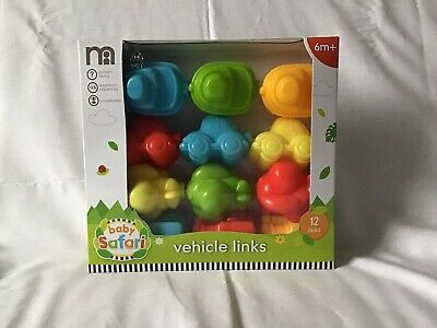 Mothercare Vehicle Links For 6 Month + Brand New • 4.99£