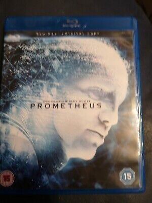 Prometheus Blu Ray With Download Code • 0.99£