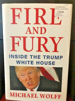 AU10.62 • Buy Fire And Fury : Inside The Trump White House By Michael Wolff