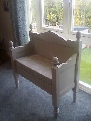 Kitchen,hall,bedroom Bench Seat, Excellent Condition With New Fitted Box Cushion • 90£
