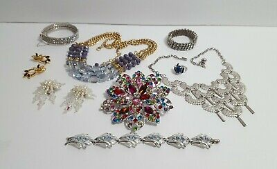 $ CDN49.97 • Buy Vintage Now Unsearched Untested NOT Junk Drawer Jewelry Lot Estate All Wear L366