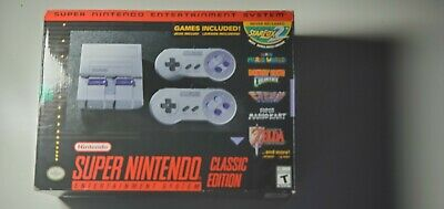 $ CDN171.79 • Buy Authentic Super Nintendo Modded Snes Mini Classic W/ 300 Games!