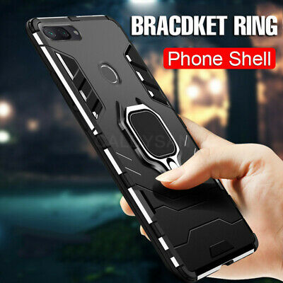 AU14.99 • Buy For OPPO A5 RENO Z 2Z 3 Realme Magnetic Shockproof Heavy Duty Case Ring Holder
