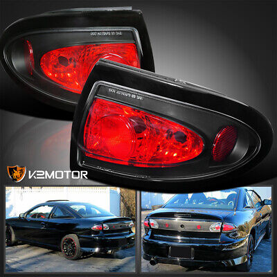 $77.38 • Buy For 2003-2005 Chevy Cavalier Rear Brake Tail Lights Lamps Left+Right 03 04 05