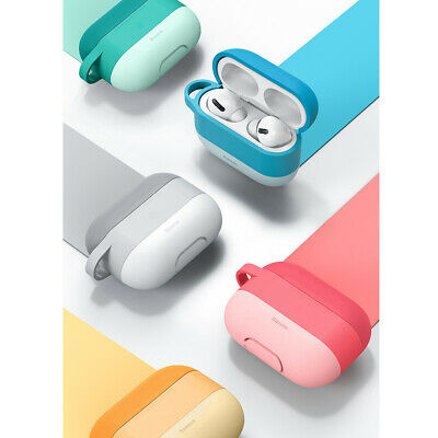 AU24.99 • Buy Shockproof Protective Silicone Case Cover For Apple Airpods Pro With Hook