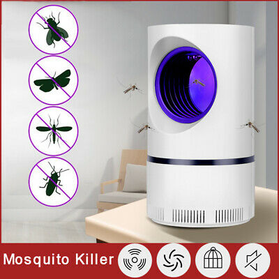 AU14.69 • Buy Electric UV Light Mosquito Lamp Insect Trap Mosquito Bug Fruit Fly Gnat Killer