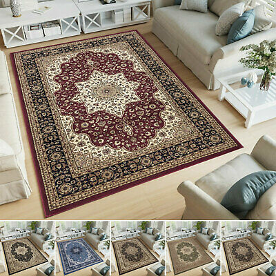 Extra Large Vintage Traditional Rugs Runner Floral Indoor Carpets Floor Area Mat • 109.99£