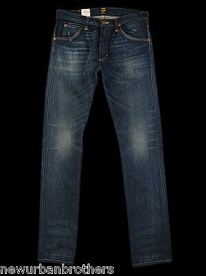 £59.95 • Buy NWT Lee 101 Z Candiani Selvedge Slim Fit Jeans RRP $300