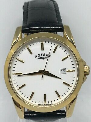 Rotary Gents GS03438/06 Classic Watch Black Leather Strap White Dial  • 10.50£