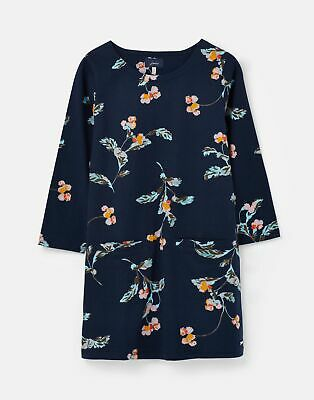 Joules Womens 210315 Printed Tunic - Navy Swanton Floral - 12 • 4.95£