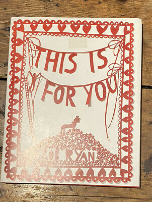 This Is For You By Rob Ryan (Hardback, 2007) • 2.70£