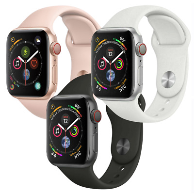 $ CDN294.92 • Buy Apple Watch Series 4 44mm GPS Cellular 4G LTE Aluminum Gold Space Gray Or Silver
