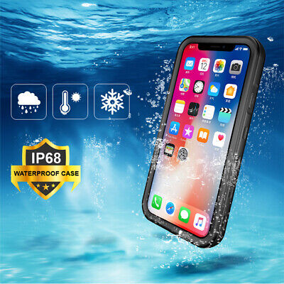 AU27.99 • Buy IPhone 11 Pro Max XS XR 8 7 6s 6 Plus Waterproof Shockproof 360 Protective Case