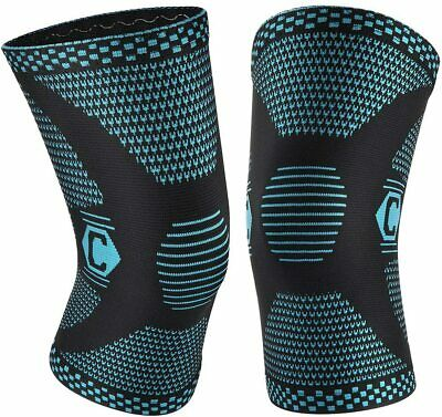 $18 • Buy Cambivo 2 Pack Knee Brace, Knee Compression Sleeves For Men And Women, Knee L