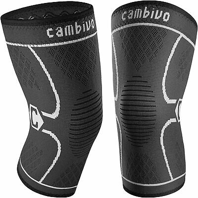 $18 • Buy Cambivo 2 Pack Knee Brace, Knee Compression Sleeves For Men And Women, Knee XL