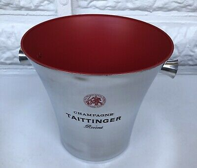 Taittinger Champagne Bucket Cooler Unused But  Some Marks See Pics • 79.99£