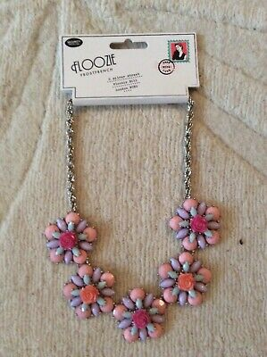 Statement Necklace Costume Jewellery Debenhams Floozie Pink New With Tags • 2.80£