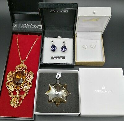 Collection Of Brand New Swarovski Vintage Jewellery • 5.99£