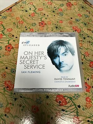 On Her Majesty's Secret Service By Ian Fleming (CD-Audio, 2012) • 4.10£
