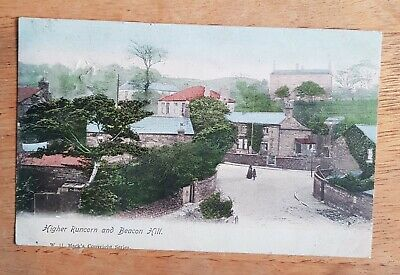 Runcorn, Cheshire. Beacon Hill Colour Postcard. Posted To Southport In 1904. • 13.50£