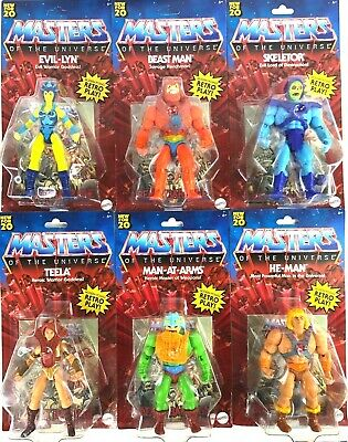 $119.94 • Buy 2020 Masters Of The Universe COMPLETE SET OF 6 Action Figures, Exclusive, NIB