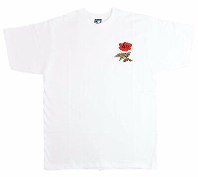 England Retro Rugby T Shirt Embroidered Crest S-XXXL Free UK Delivery • 21£
