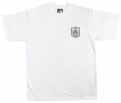£21 • Buy Fulham 1960s Retro Football T Shirt Embroidered Crest S-XXXL Free UK Delivery