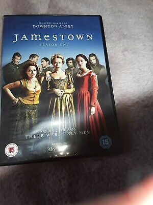 Jamestown Dvd From The  Makers Of Downtown Abbey Season  One • 2.40£