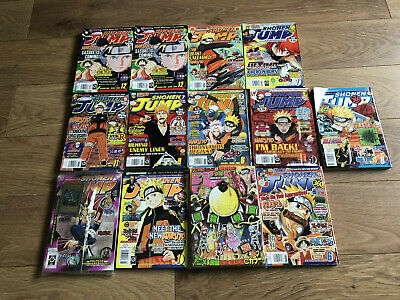 Weekly Shonen Jump Magazine Lot Of 13, Issue 1 & Final Naruto Included! English • 200£