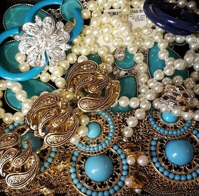 $ CDN33.31 • Buy Vintage Now Unsearched Untested Junk Drawer Jewelry Lot Estate Most Wear L372