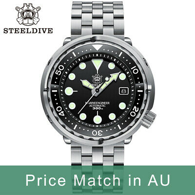 $ CDN228.77 • Buy Steeldive SD1975, TUNA 2020 Version, NH35, AR Sapphire, Lume, 300m Diver, BNIB