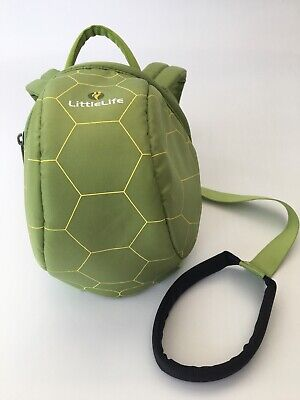 LittleLife Child Toddler Backpack Reins Turtle Design Wrist Strap Little Life • 10£