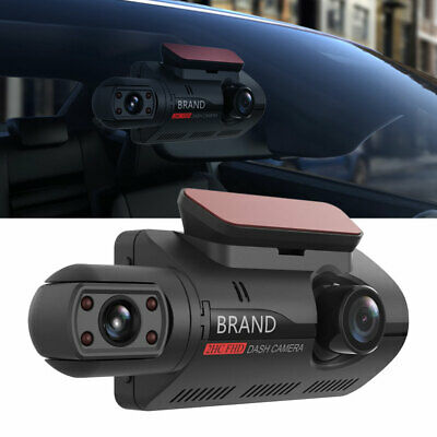 AU58.94 • Buy HD 1080P 3'' Car DVR Dual Lens Dash Cam Front And G-sensor Video Recorder BR