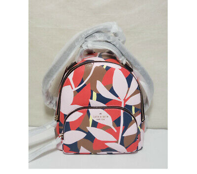 $ CDN130.14 • Buy 🍁nwt Kate Spade Jackson Medium Backpack Tote Bag Tropical Toss