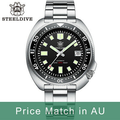 $ CDN219.24 • Buy Steeldive SD1970, 6105 Turtle Captain Willard, NH35, Sapphire, Lume, Diver, BNIB