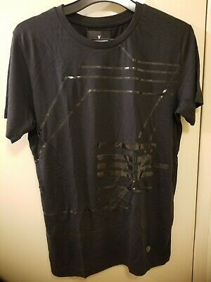 AU35.50 • Buy Authentic Y LONDON Designer Mens Black Tshirt Size S