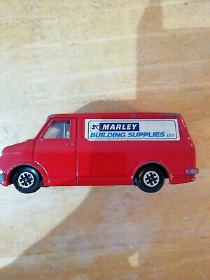 Vintage Dinky Bedford Van Marley Building Supplies 1970s Red • 14.99£
