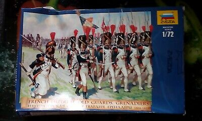 1/72 Zvezda French Old Guard 8030 New And Sealed, Now Discontinued. Very Rare • 40£