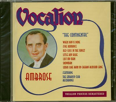 Ambrose - The Continental (CD) - Pop Vocal • 18.98£