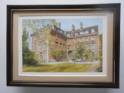 'St Peter's College, Oxford'  Print FRAMED • 19.95£