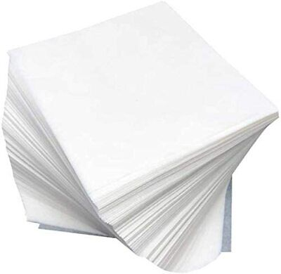 50 Pack 9  Inch 23cm White Greaseproof Squares - Square Baking Paper Tin Liners • 5.75£